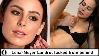 Landrut nackt meyer cele lena Lena Meyer
